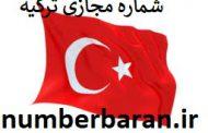 شماره مجازی ترکیه
